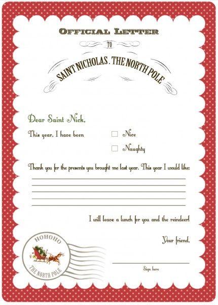 FF Letter to Santa Serendipty Soiree
