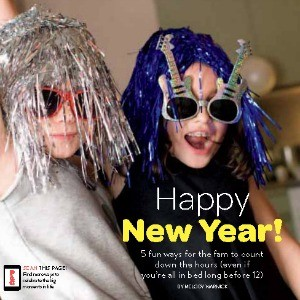 New Year's Eve With Kids {Fun, Easy and Early to Bed}