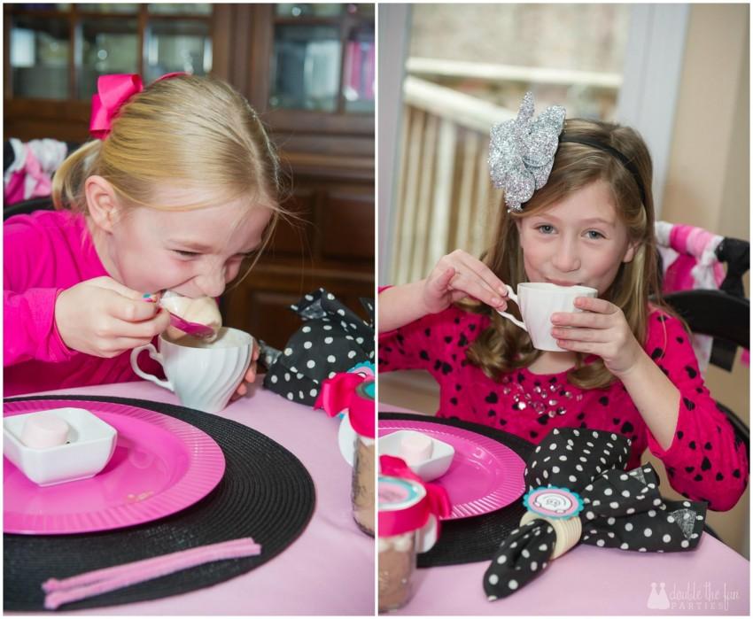 DFP Pink Pig Girls Collage