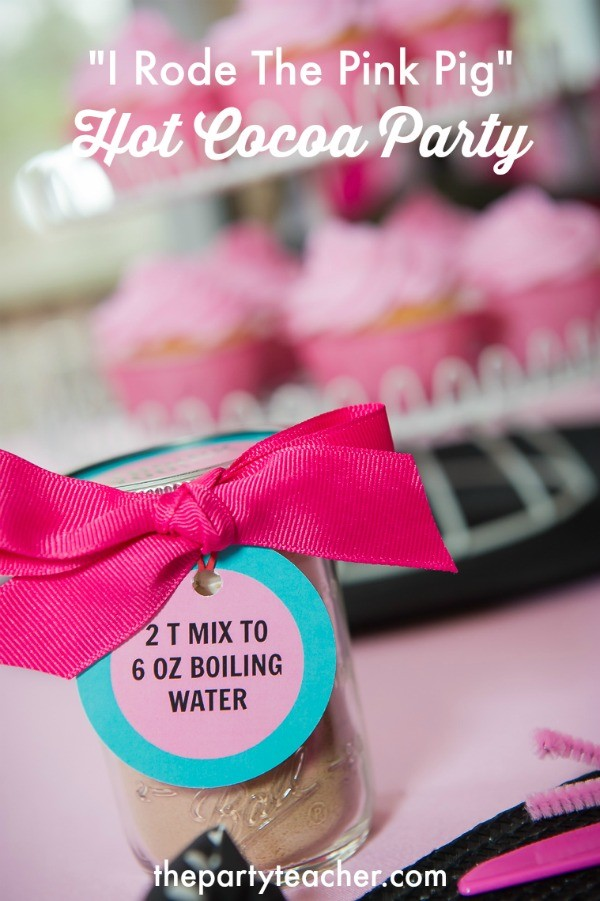 Pink Pig Hot Cocoa Party by The Party Teacher