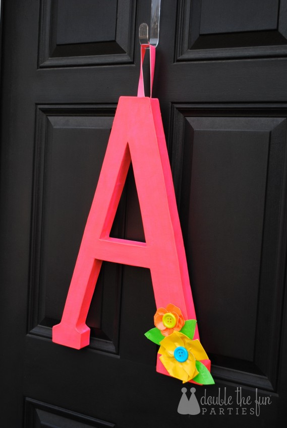 Neon Party Front Door Decoration by Double the Fun Parties 1