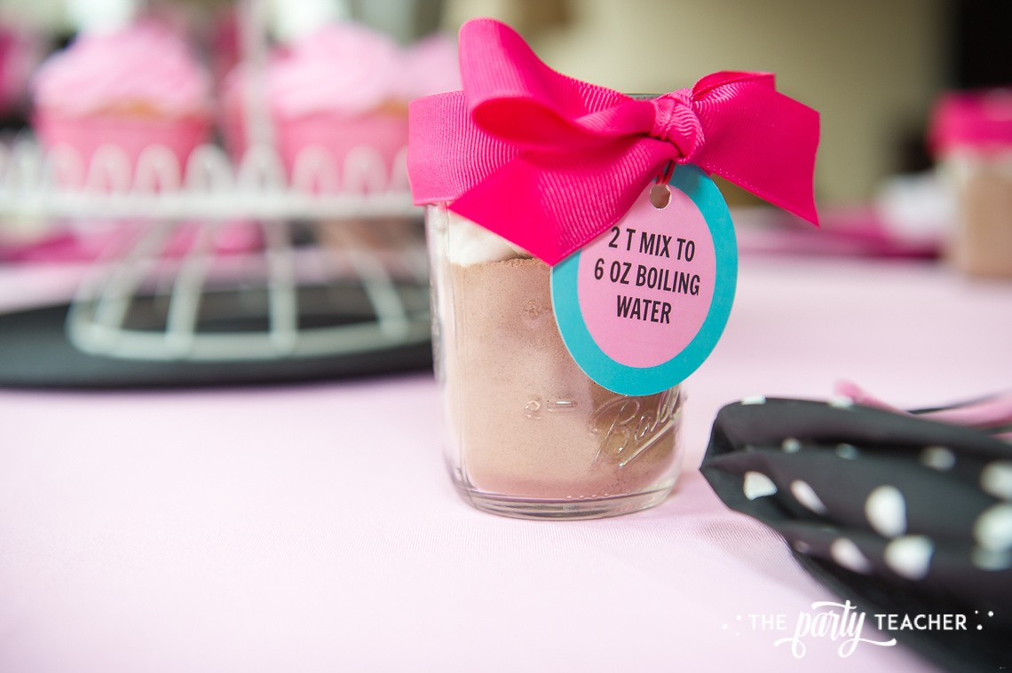 Pink Pig Hot Cocoa Party by The Party Teacher-cocoa mix recipe