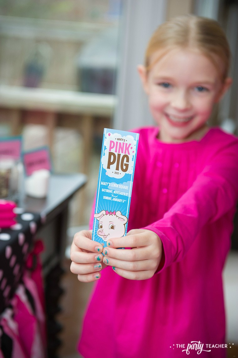 Pink Pig Hot Cocoa Party by The Party Teacher-Pink Pig Ticket