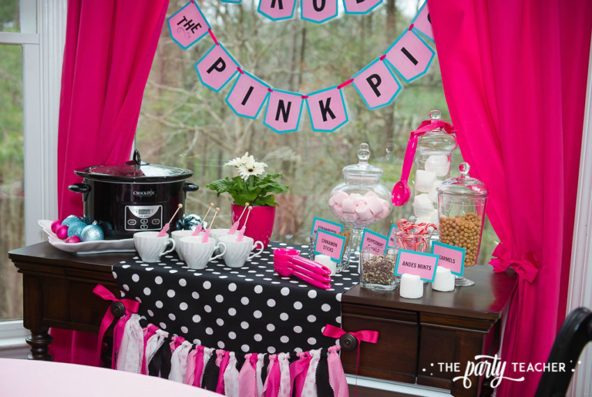 Pink Pig Hot Cocoa Party by The Party Teacher-4
