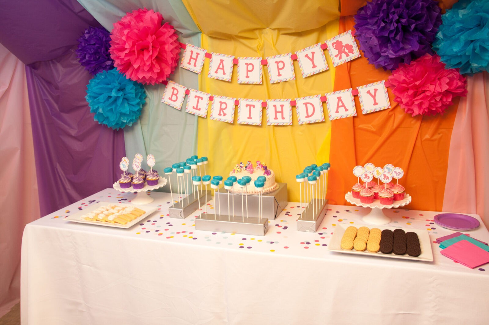 Guest Party: My Little Pony Fourth Birthday Party