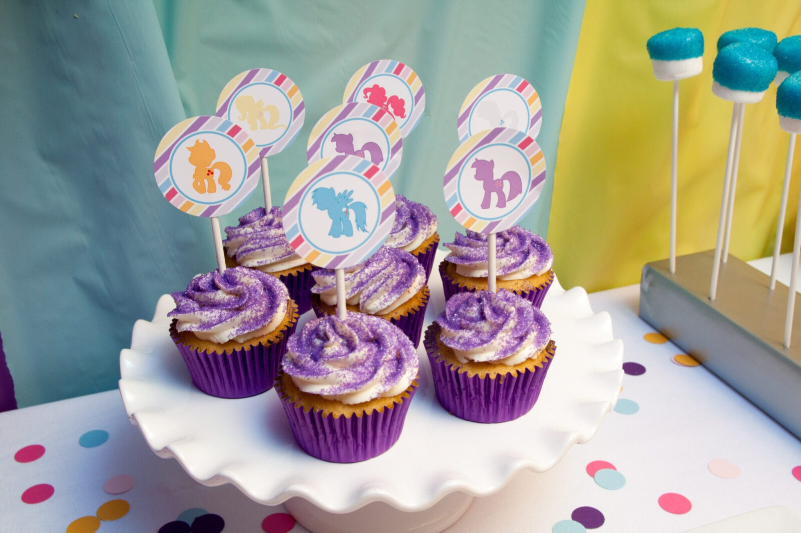 Guest Party My Little Pony Fourth Birthday