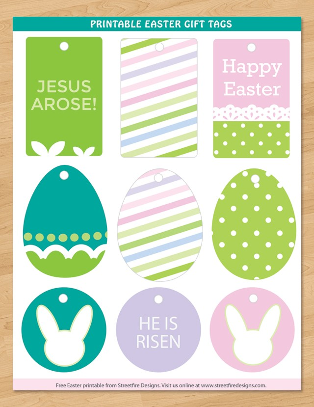 Editable easter gift tags images gift and gift ideas sample freebie friday 19 free easter printables ff street fire designs easter negle gift tag negle Gallery