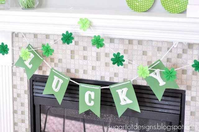 FF Sugar Tot Designs St. Patrick's Day