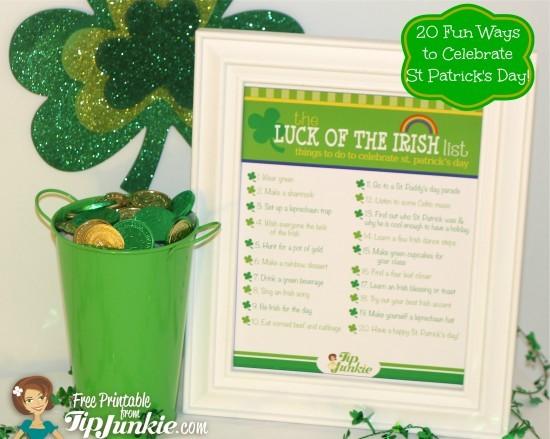 FF Tip Junkie St. Patrick's Day