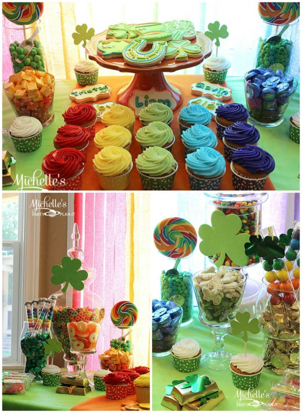 MPP St. Patrick's Day Cookies Candy Collage