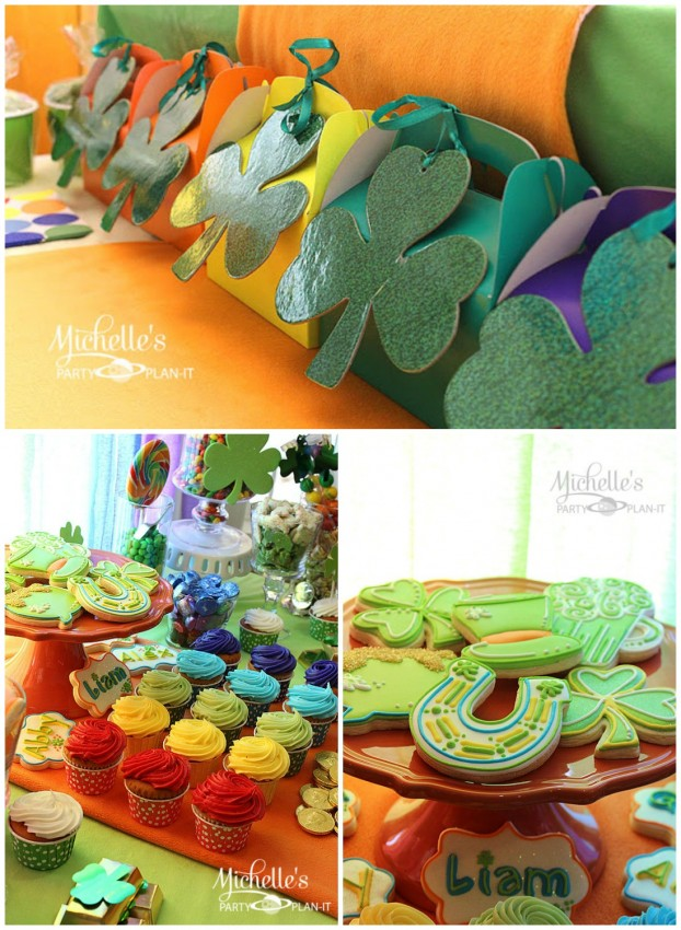 MPP St. Patrick's Day Cookies Favors Collage