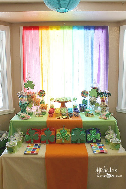 MPP St. Patrick's Day Dessert Table