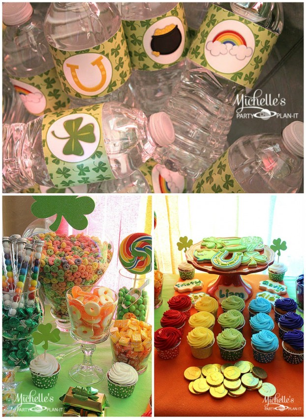 MPP St. Patrick's Day Water Collage