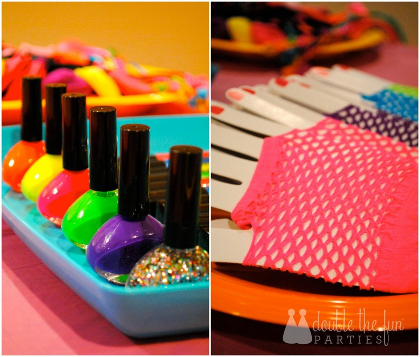 Neon Party Dress Up 2 Collage