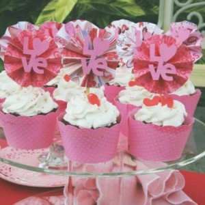 Guest Party: Valentine's Day Candy Kisses Tea Party