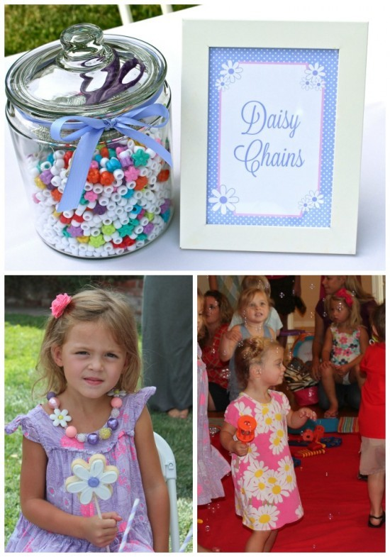 Daisys & Donuts daisy chains