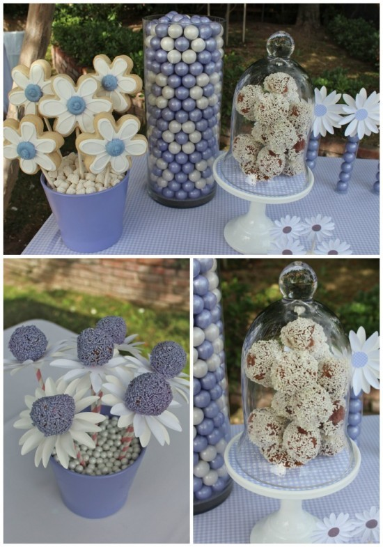 Daisys & Donuts dessert table-1