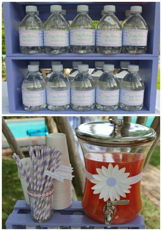 Daisys & Donuts drink station