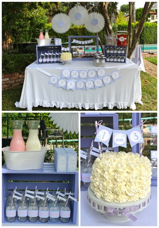 Daisys & Donuts drinks table
