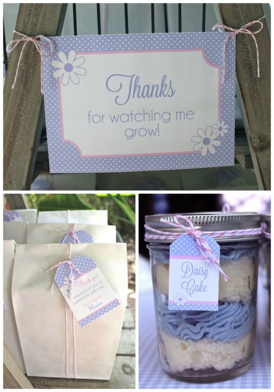 Daisys & Donuts favors