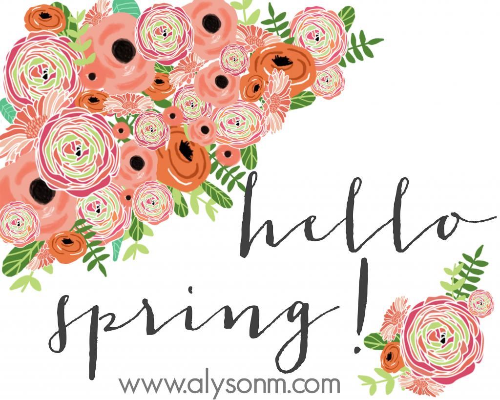 freebie friday 24 free spring party printables