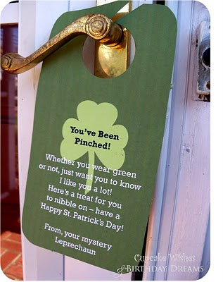 FF Cupcake Wishes & Birthday Dreams St. Patrick's Day