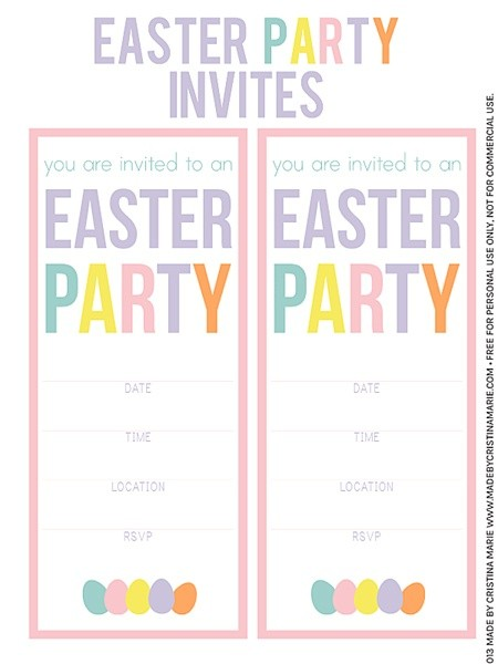 FF I Share Printables Easter