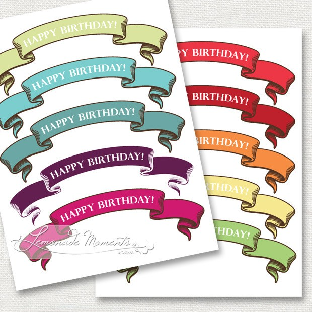 Freebie Friday 15 Free Birthday Party Printables