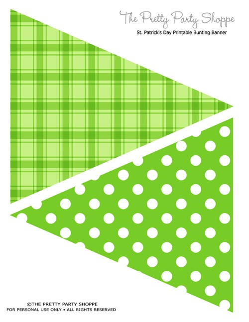 FF The Pretty Party Shoppe St. Patrick's Day