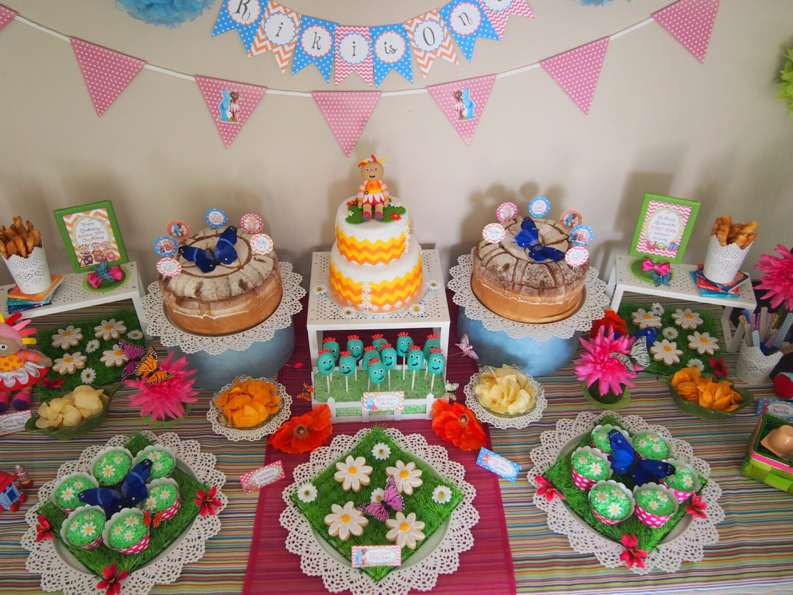 Guest Party In The Night Garden First Birthday