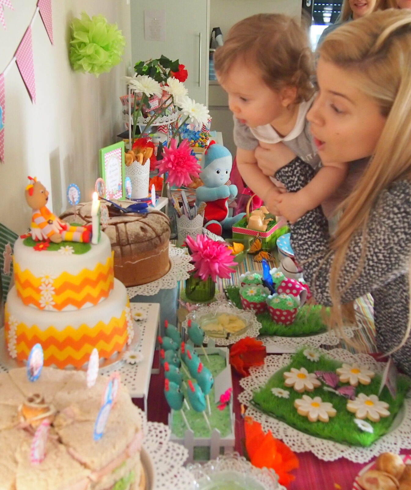 Guest Party In the Night Garden First Birthday Party