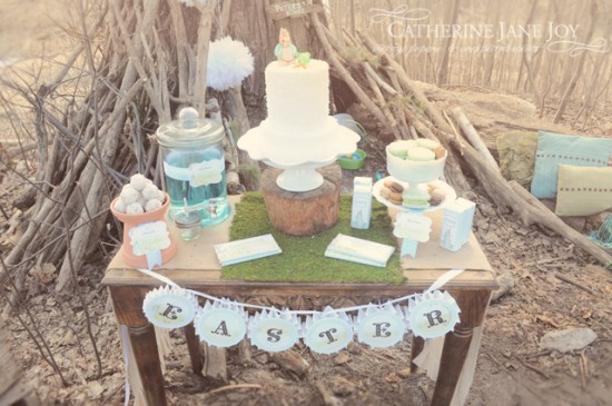 Peter Rabbit Dessert Table by Catherine Jane Joy