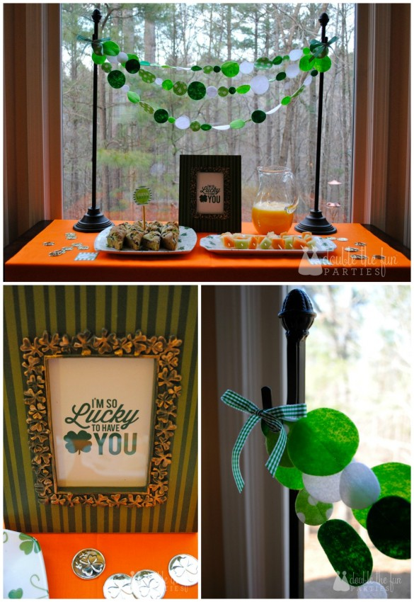 St. Patrick's Day Breakfast Buffet by Double the Fun Parties