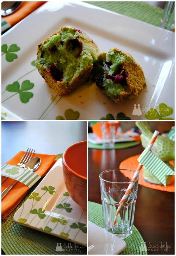 St. Patrick's Day Breakfast Drinks by Double the Fun Parties
