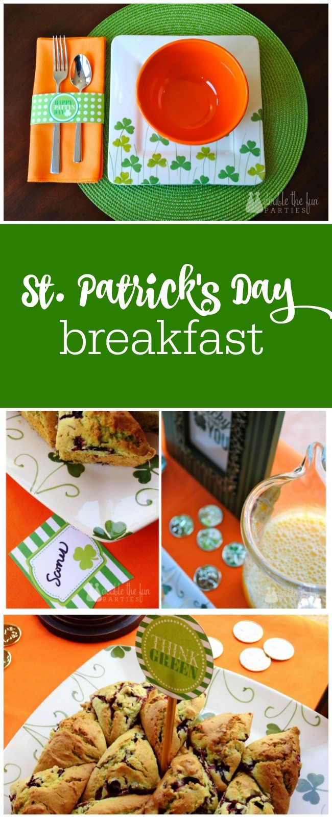 St. Patrick's Day breakfast by The Party Teacher