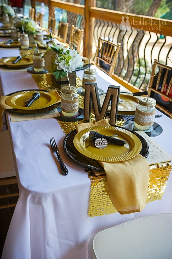 CMA country glam dining table by Double the Fun Parties-v