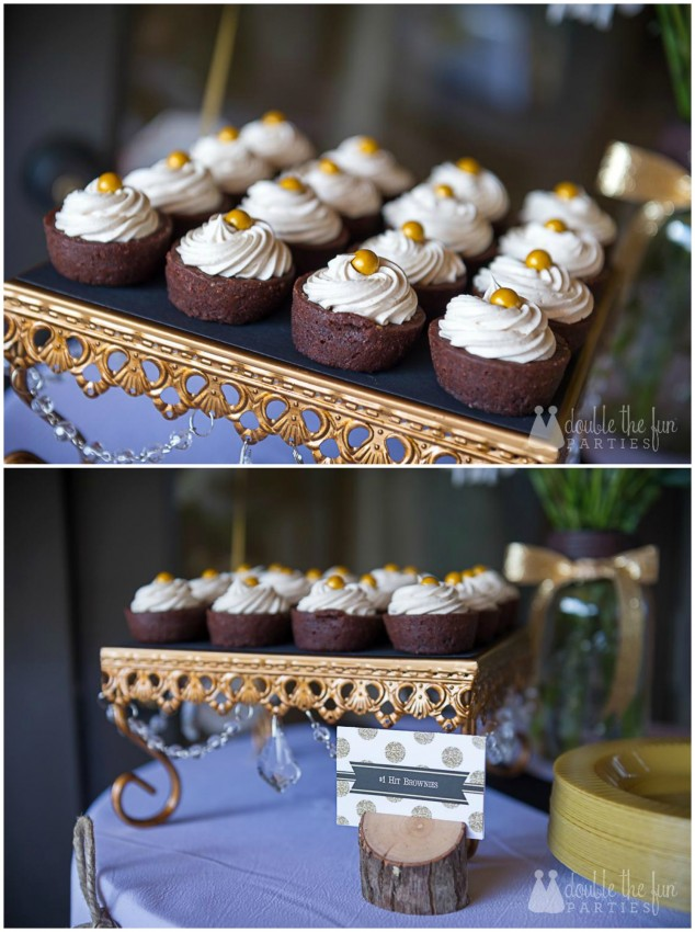 Country Music Awards Party Brownie Bites by Double the Fun Parties
