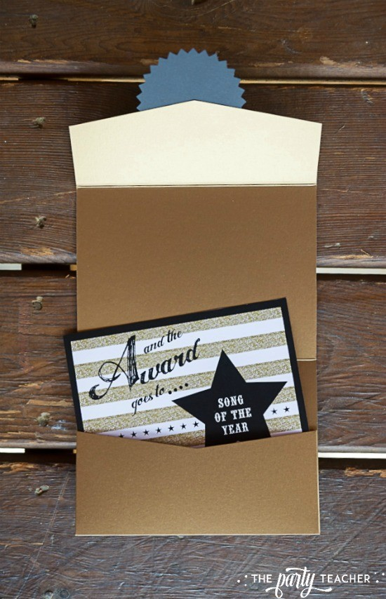Country Music Awards Party by The Party Teacher - awards envelope