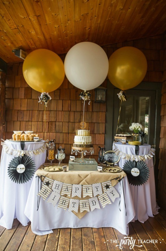 Country Music Awards Party by The Party Teacher - dessert table
