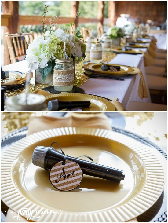 Country Music Awards Party by The Party Teacher - dining table