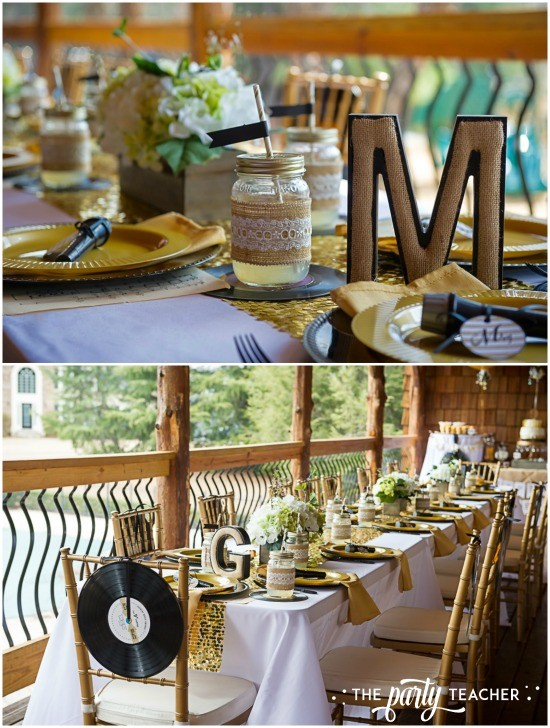 Country Music Awards Party by The Party Teacher - dining tables