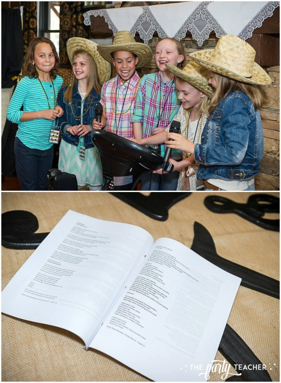 Country Music Awards Party by The Party Teacher - karaoke and song book