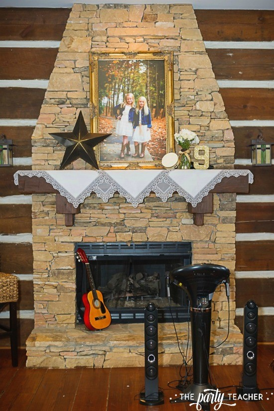 Country Music Awards Party by The Party Teacher - karaoke station decor