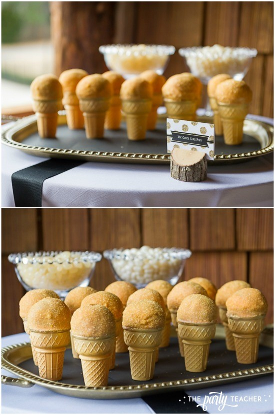 Country Music Awards Party by The Party Teacher - mic check cakepops