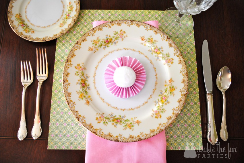 Easter Table in 15 minutes for $1.59 0150