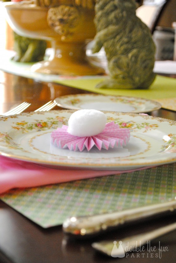 Easter Table in 15 minutes for $1.59 0168