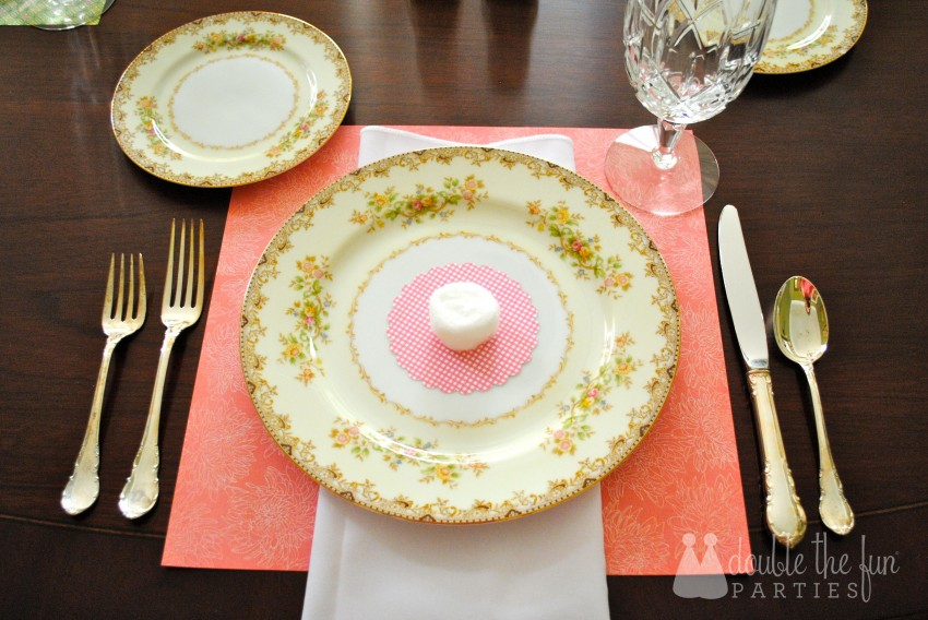 Easter Table in 15 minutes for $1.59 0211