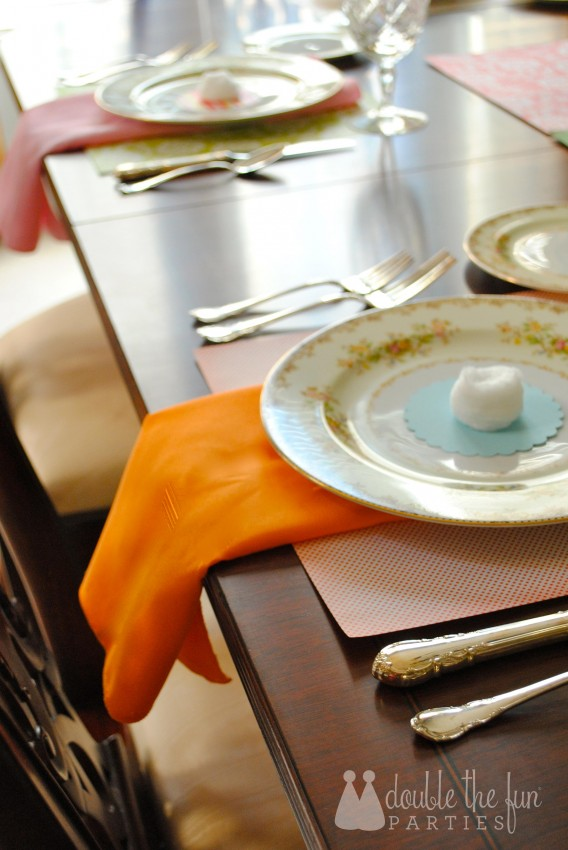 Easter Table in 15 minutes for $1.59 0228