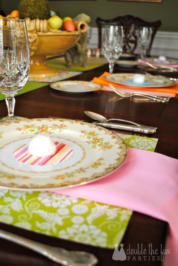 Easter Table in 15 minutes for $1.59 0234