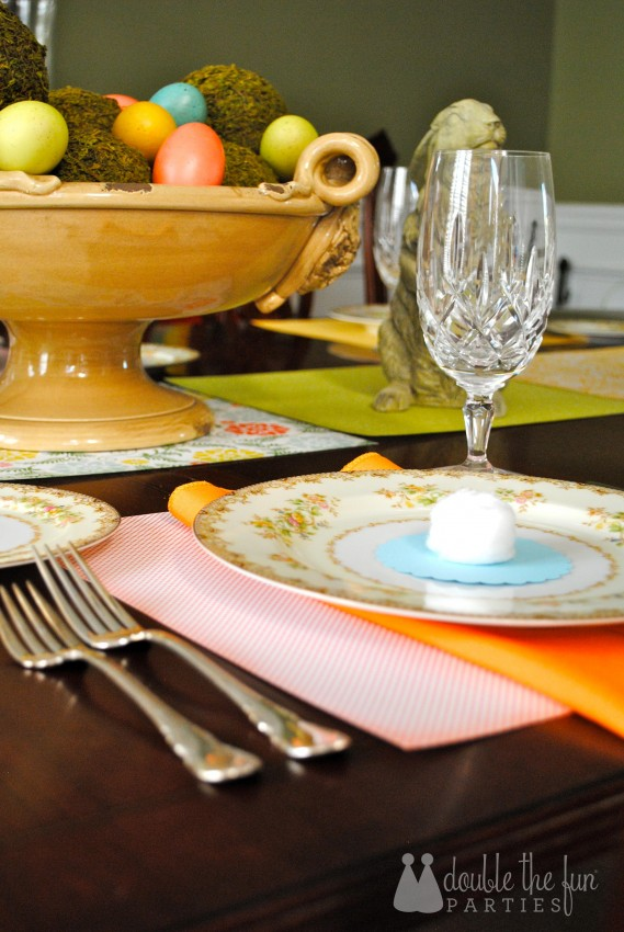 Easter Table in 15 minutes for $1.59 0241